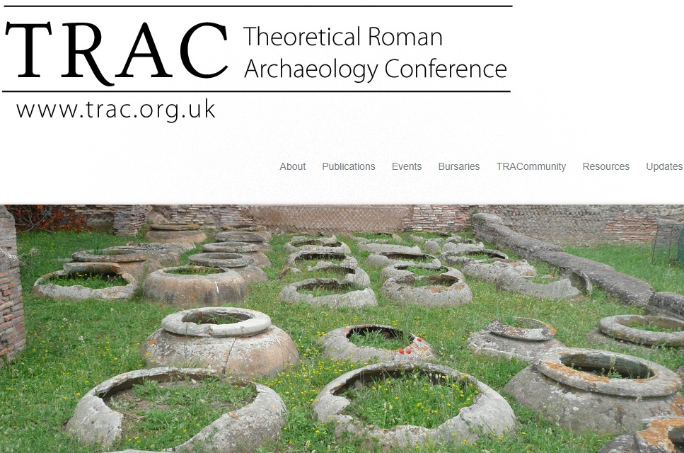 Posticipata TRAC 2020 – The 30th Theoretical Roman Archaeology Conference