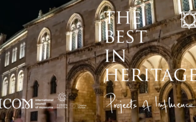 """ArchAIDE project shortilisted at """"The Best in Heritage Imagines Award"""" 2020"""