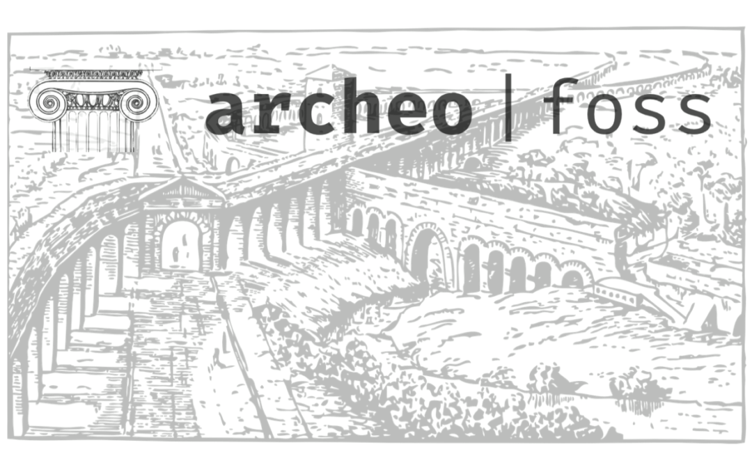 XIV ArcheoFOSS CFP is open