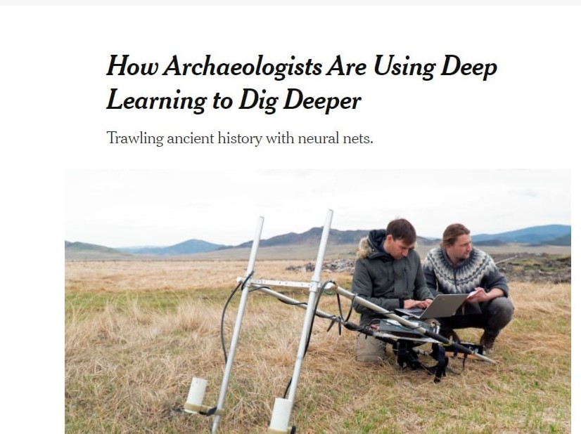 ArchAIDE on The New York Times