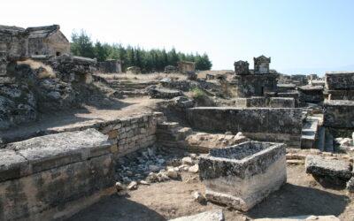 The necropolis of Hierapolis
