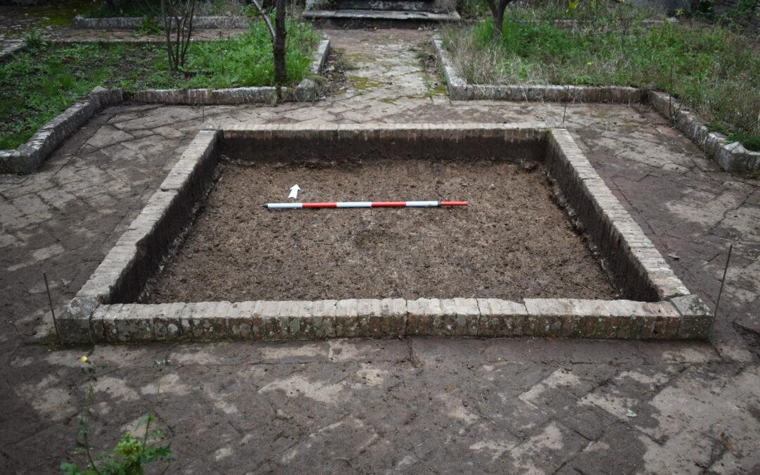 Garden archaeology alla Certosa di Calci