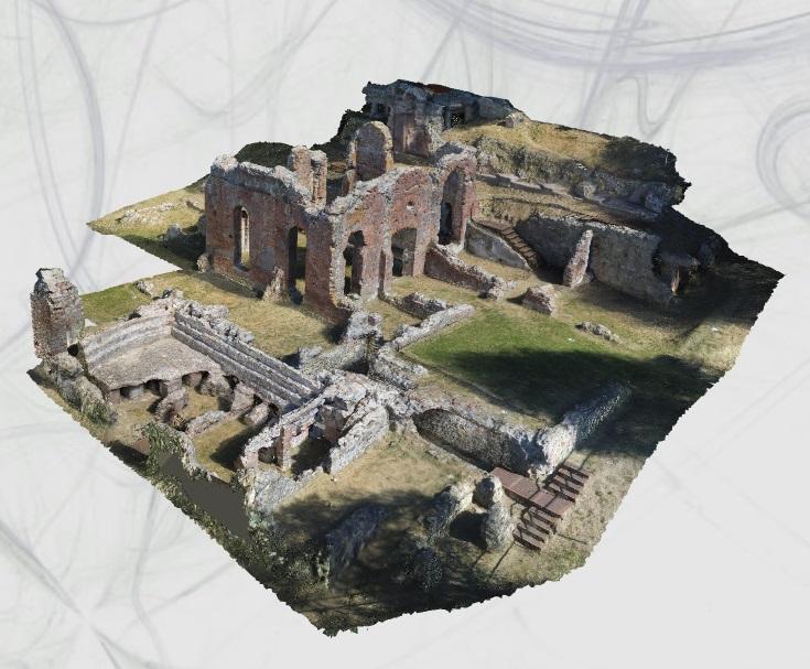 New project is on-line! ArchaeoBIM to reconstruct the roman area of Massaciuccoli!